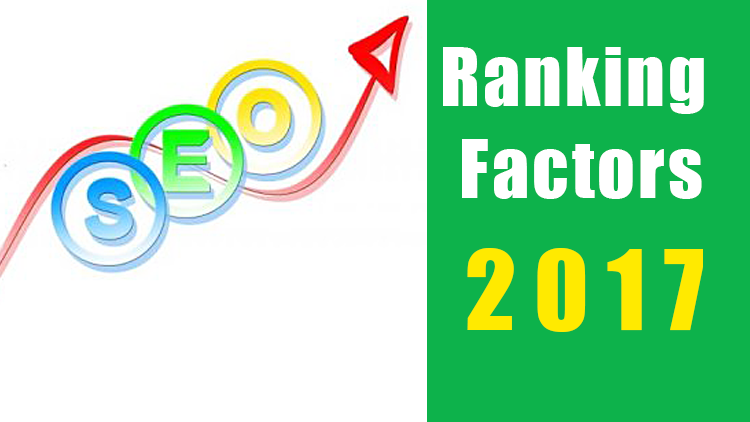 Top SEO Ranking Factors in 2017