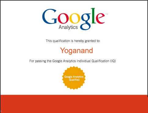 benefits of Google Analytics certification