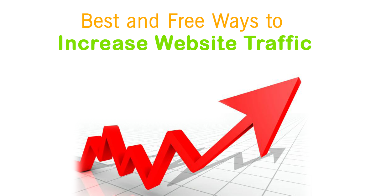 How to Increase Website Traffic for Free, Best and Free Ways to Increase Website Traffic in 2018, instant website traffic, increase website traffic free, Increase Website Traffic Through Social Media